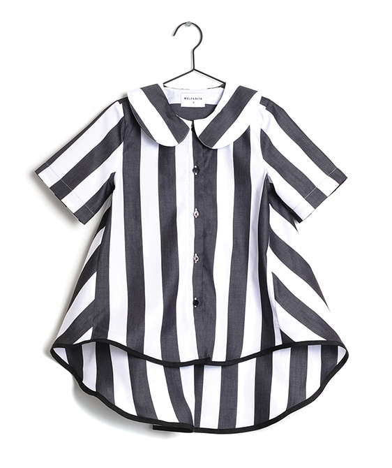 Diana White Stripes Shirts