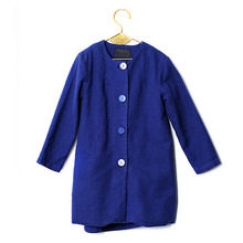 Luisa Coat - Blue (Kid&Mom)