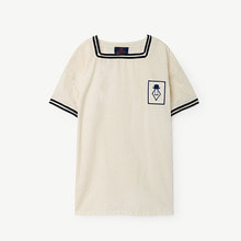Whistler Kid Blouse - Navy Blue Peach ★ONLY 10Y★