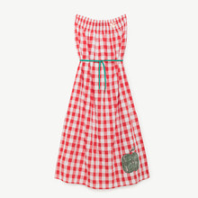 Dolphin Kid Dress - Red Apple ★ONLY 2Y★