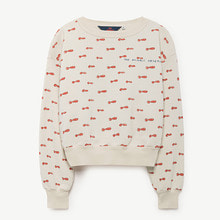 Bear Kid Sweatshirt - Raw White Noseman