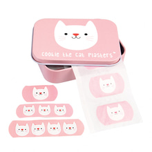 [2차 입고] Plasters In Tin Cookie The Cat