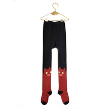 Cat Tights (baby/Kid) - Brick
