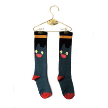 Cat Socks (baby/Kid) - Green