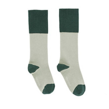Rice Loop High Socks - Pistacho/Dark Green