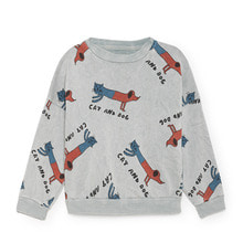 Cats and Dogs Round Neck Sweatshirt (Kid)