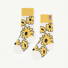 Snail Socks - Yellow