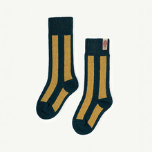 Skunk Socks - Deep Green