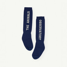 Worm Socks - Navy Blue