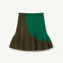 Swan Kids Skirt - Electric Green ★ONLY 3Y★