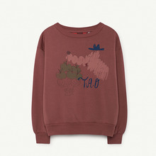 Bear Kids Sweatshirt - Maroon Bomar ★ONLY 3Y★