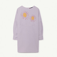 Swallow Kids Dress - Purple Red Suns ★ONLY 6Y★