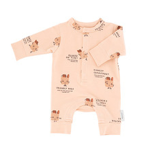 Friendly Bags Fleece One-Piece - Nude/Dark Nude/Brick ★ONLY 18M★
