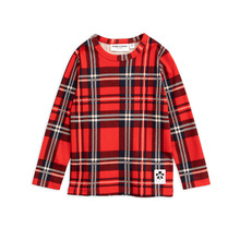 Check Ls Tee - Red ★ONLY 116/122★