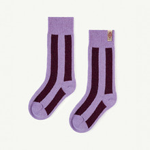 Skunk Socks - Purple