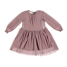 Stars Dress w/ Tulle - Pink ★ONLY 3Y★