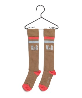 Long Socks W&R Taupe (Baby&Kid)