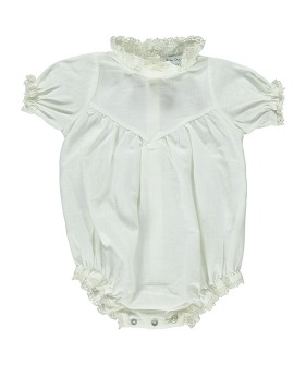 Ofelia Romper - Natural White