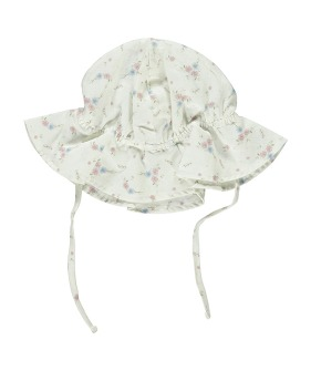 Sunshine Hat - Floral print ★ONLY 2-3Y★