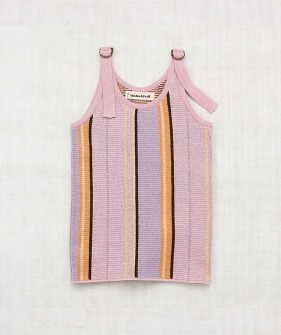 Kingston Tank - Soft Purple Stripe