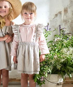 Ingrid Skirt - Taupe ★ONLY 3Y★