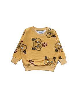 Sweatshirt - Yellow Cat