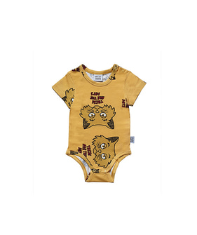 Romper - Yellow Cat ★ONLY 74/80 (6/12M)★