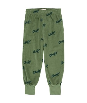 Chido Sweatpant - Green Wood/Bottle Green