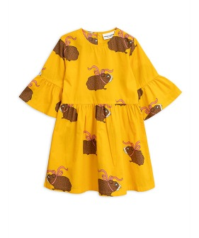 Posh Guinea Pig Dress  - Yellow ★ONLY 116/122★