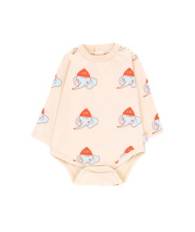 Luckyphant LS Body - Light Cream/Light Mint ★ONLY 18M★