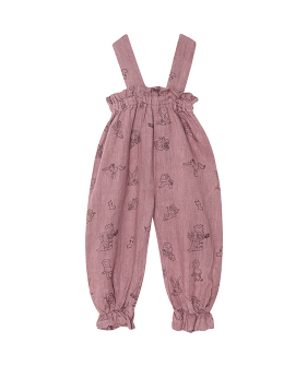 Linen Tie Trousers - Pink  ★ONLY 6Y★