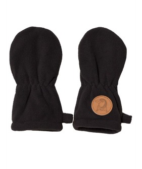 Fleece Baby Mittens - Black ★ONLY 6-12M★