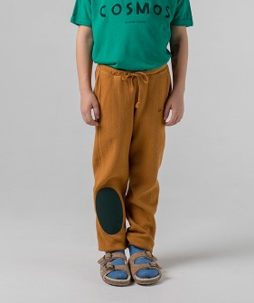 Green Patch Jogging Pants #054