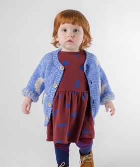 Moon Jacquard Cardigan #207 (Baby) ★ONLY 18-24M★
