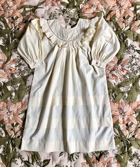 Romantic Dress - Ivory ★ONLY 6Y★
