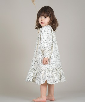 Smocked Dress - AOP Floral ★ONLY 8-10Y★