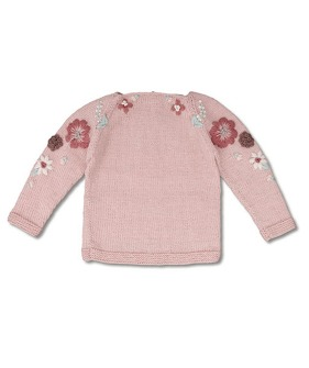 Flora Sweater - Dusty Pink