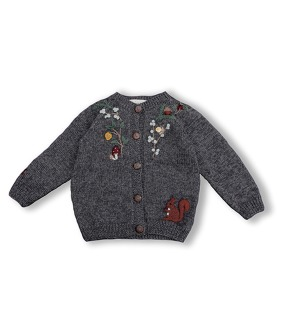 Woodland Cardigan - Dark Grey