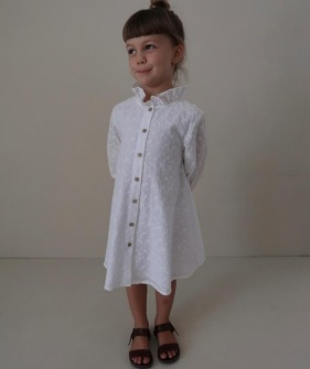 Fanette Dress - Blossom  Broderie ★ONLY 6Y★
