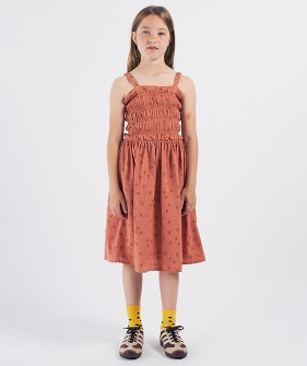 All Over Daisy Smoked Dress (Kid) #01116