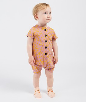 Animal Print  Playsuit  (Baby) #11036