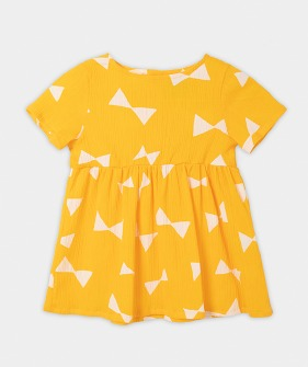 All Over Bow Dress (Baby) #00087