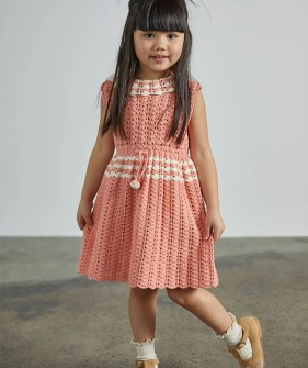 Ever Dress - Coral ★ONLY 5-6Y★