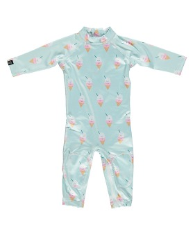 Aloha Ice-cream Baby Suit - Light