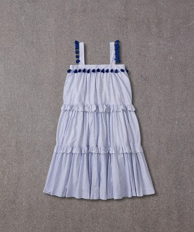 Paige Dress Womens (AN20S090) - Small Blue Checks