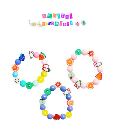 Fruitti Bracelets DIY - 3Colors