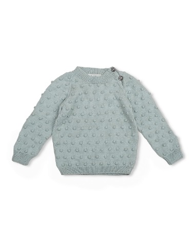 Bubble Sweater - Duck Blue