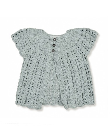 Bella Cardigan - Duck Blue