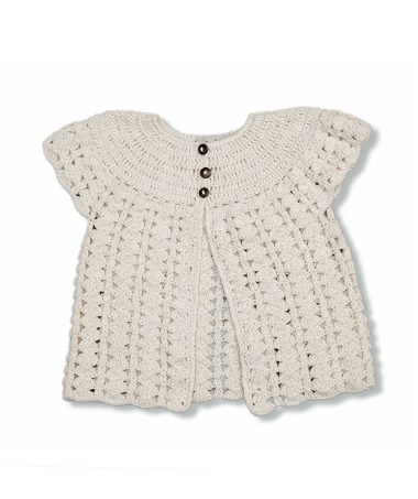 Bella Cardigan - Cream White ★ONLY 3Y★