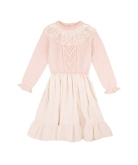 Garance Dress - Natural ★ONLY 6Y★